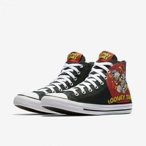 Size 9 Converse Chuck Taylor All Star Looney Tunes